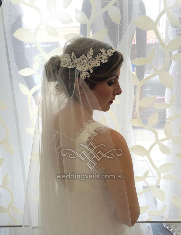 Victoria Juliet Cap Veil – Wedding Veils Australia