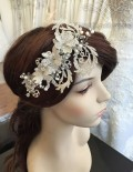 Belle Vintage Lace Headpiece